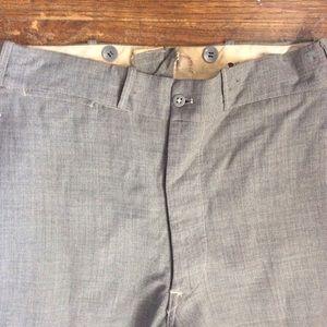 Pants - Vintage Rare 1930's Pants! Buttons for Suspenders.